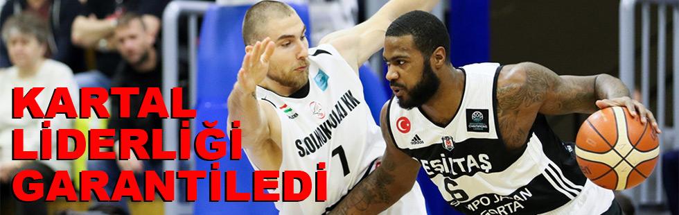Beşiktaş liderliği garantiledi