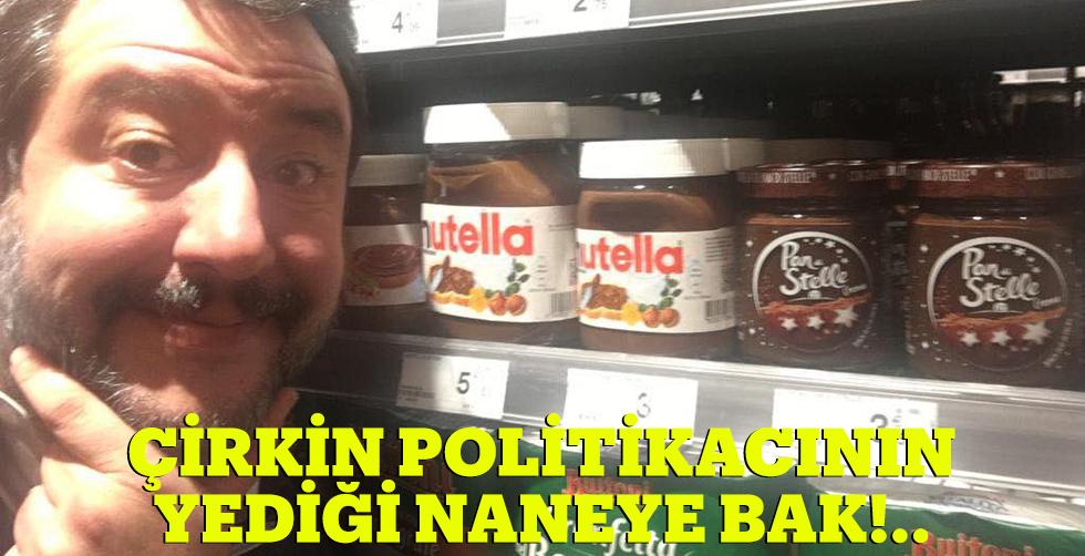 Çirkin politikacının yediği naneye…