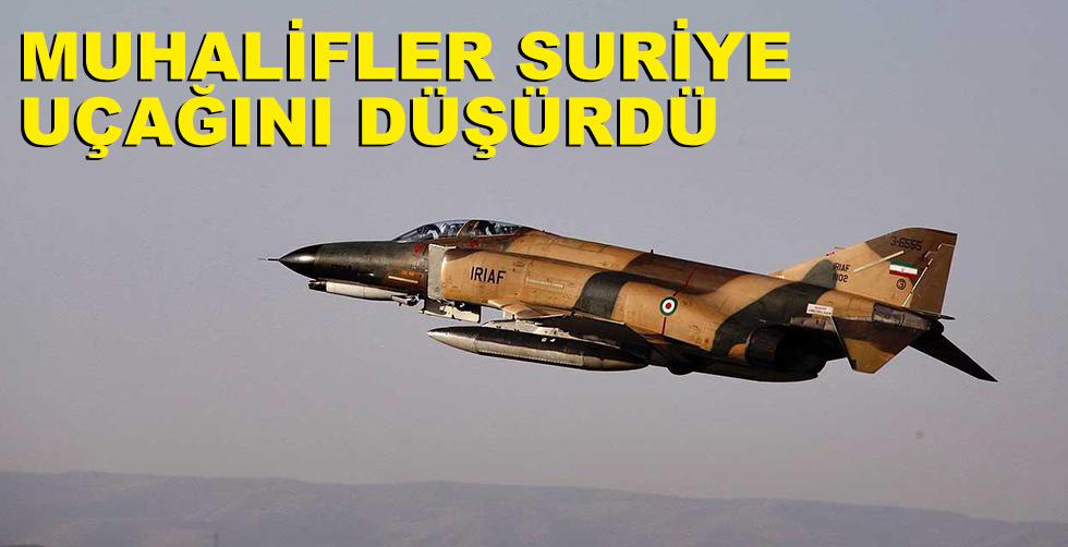 Muhalifler Suriye helikopterini düşürdü