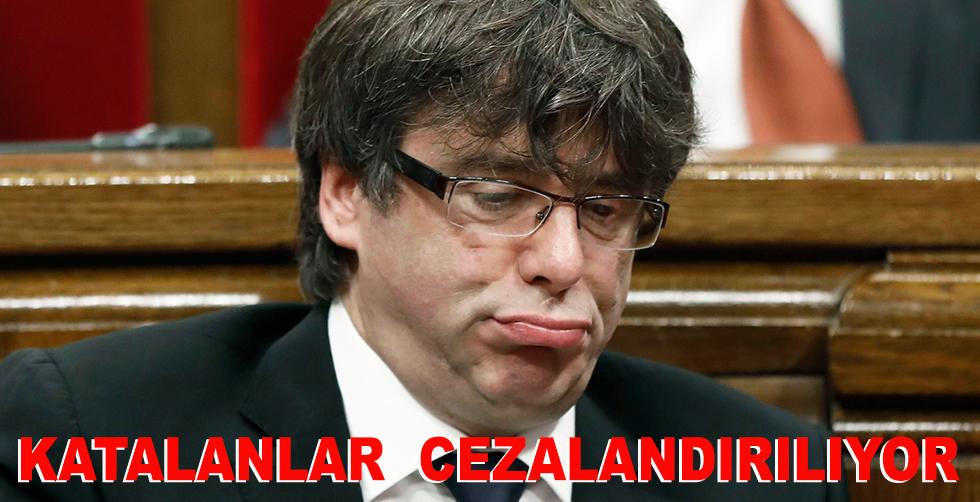 Katalanlar cezalandırılıyor!..