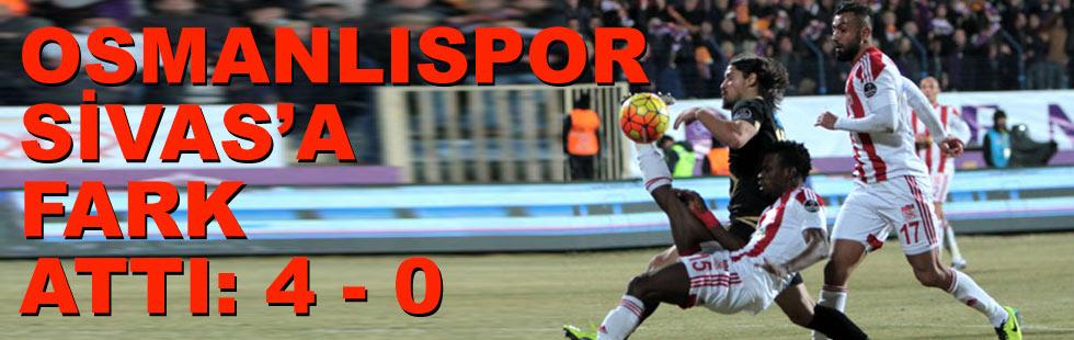 Osmanlıspor, Sivas'a fark attı:…