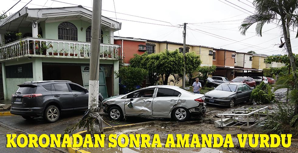 Koronadan sonra Amanda vurdu!..