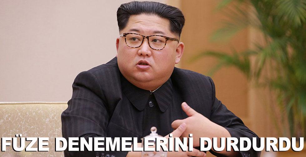 K. Kore füze denemelerini durdurdu