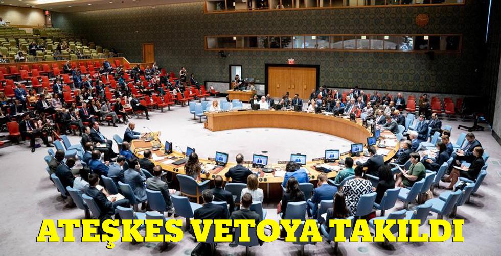 BM'de İdlib krizi: Ateşkes vetoya…