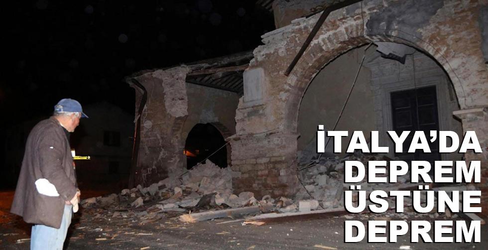 İtalya'da deprem üstüne deprem!..