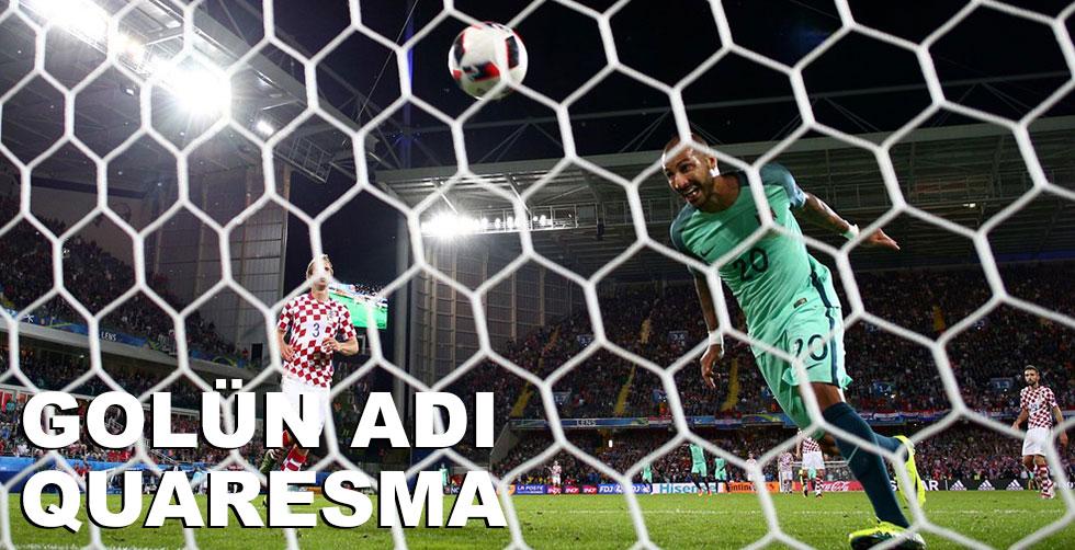 Portekiz'i Quaresma kurtardı!..