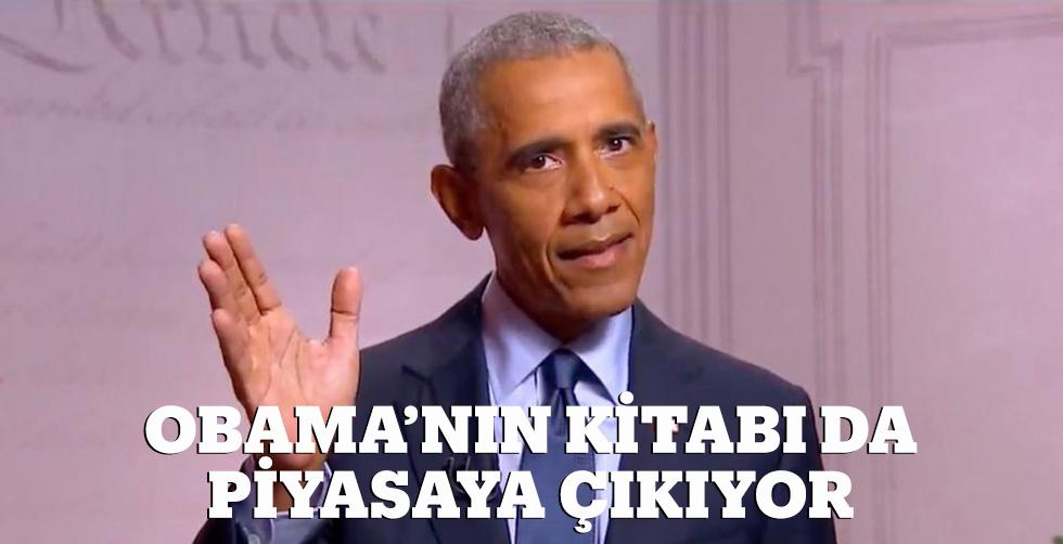Obama'nın kitabı da piyasaya…