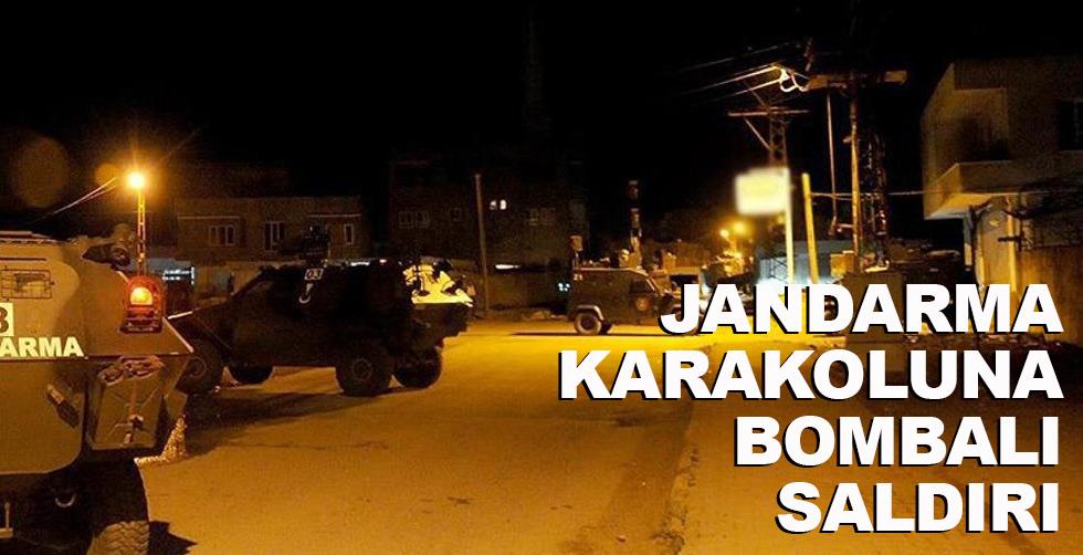 Diyarbakır'da Jandarma Karakolu'na…