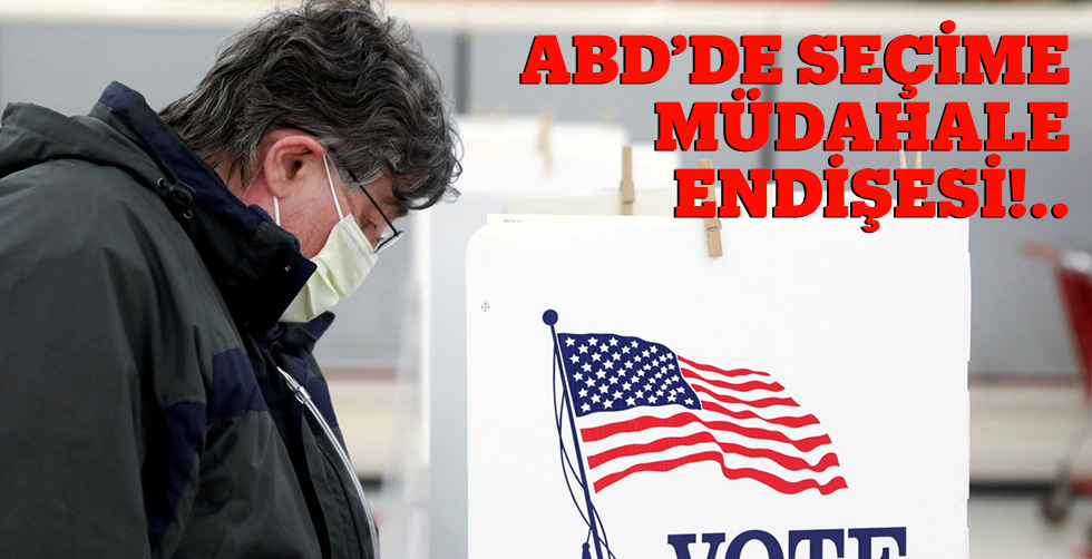 ABD'de seçime müdahale kaygısı