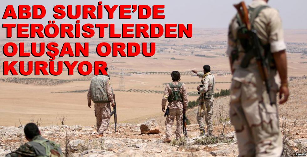 ABD Suriye'de teröristlerden oluşan…