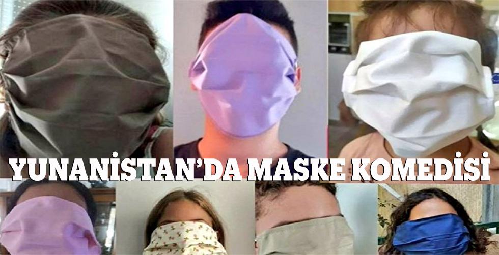 Yunanistan'da maske komedisi