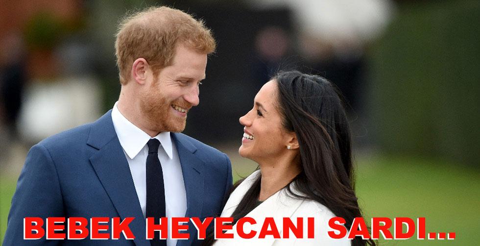 Kraliyet ailesini bebek heyecanı sardı