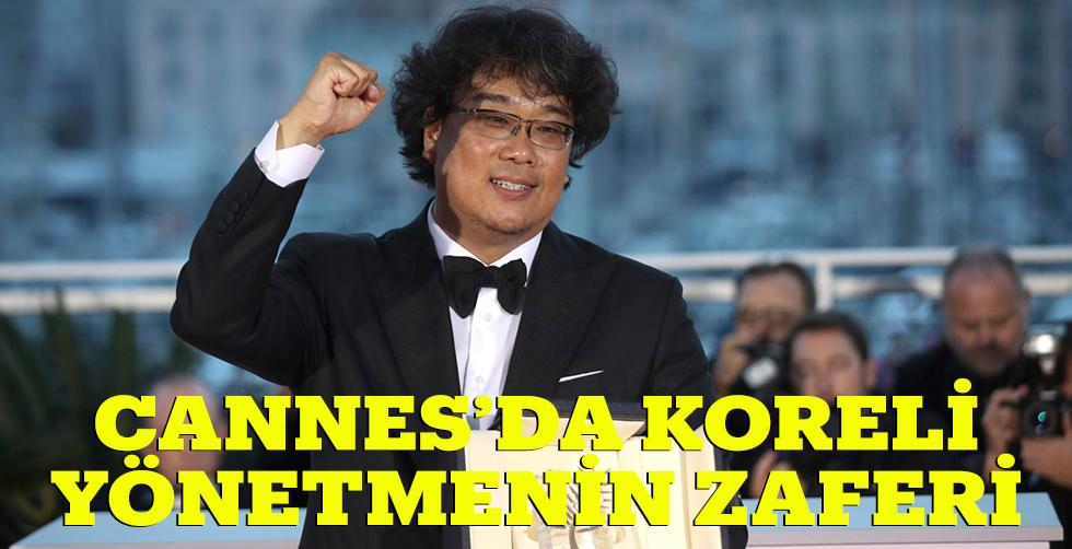 Cannes'da Koreli yönetmenin zaferi
