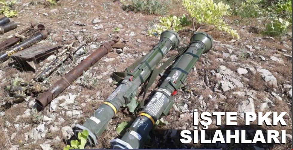 İşte PKK'nın ağır silahları!..