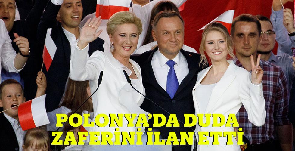 Polonya'da Duda zaferini ilan etti
