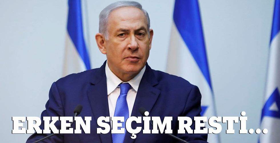 İsrail'de yeniden erken seçim…
