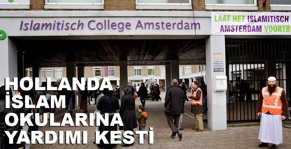 Hollanda hükümeti İslam okuluna…