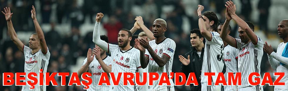 Beşiktaş Avrupa'da da tam gaz…
