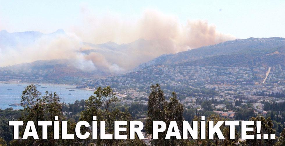 Alevler tatil sitelerine ulaştı!..