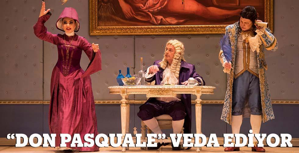 """Don Pasquale"" veda ediyor"
