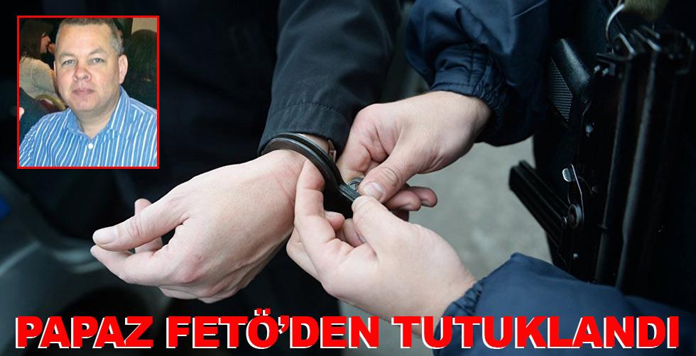 Papaz FETÖ'den tutuklandı!..