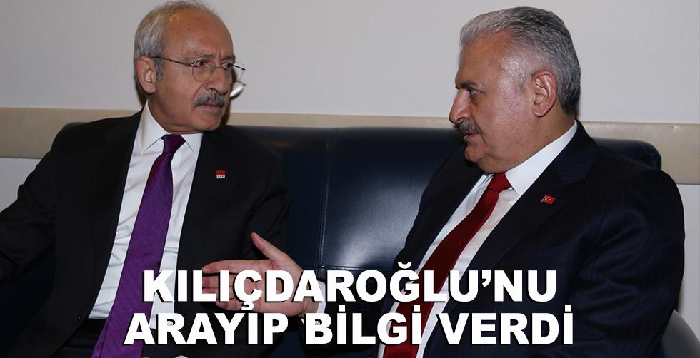 Kılıçdaroğlu'nu arayıp bilgi…