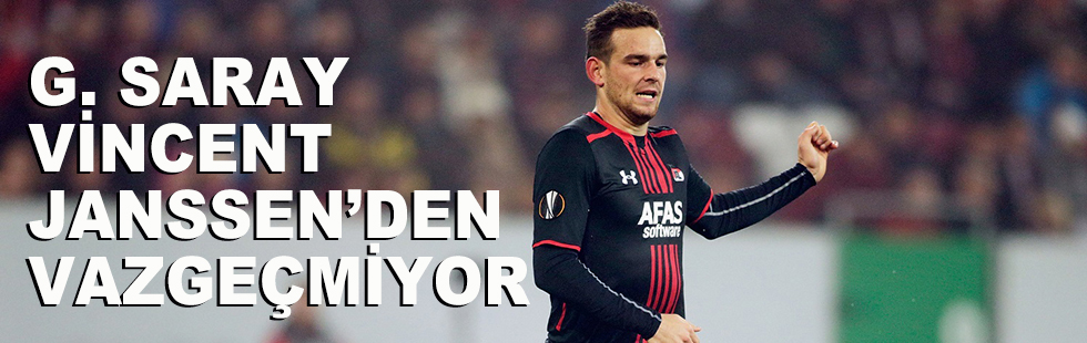 Galatasaray Vencent Jenssen'den…