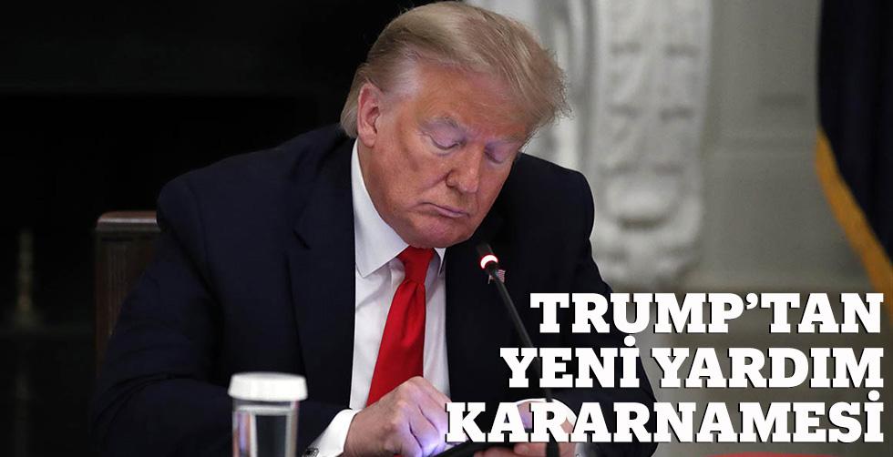 Trump'tan yeni yarrdım kararnamesi