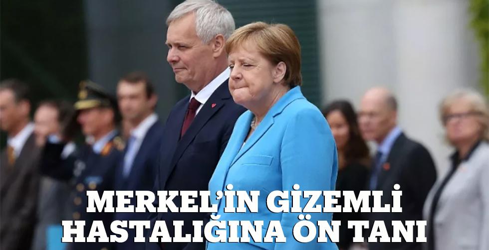 Merkel'in gizemli hastalığına…