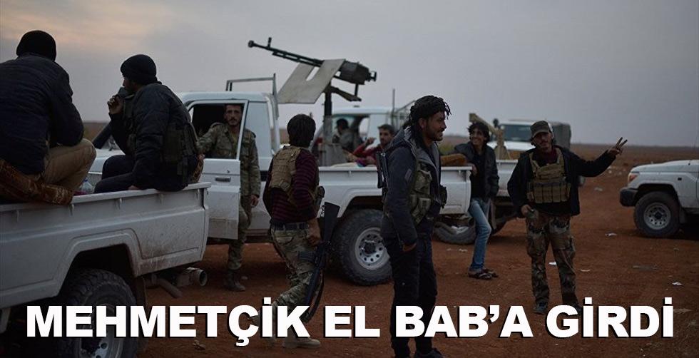 Mehmetçik el Bab'a girdi!..