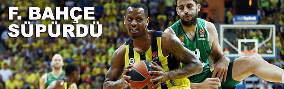 Fenerbahçe süpürdü