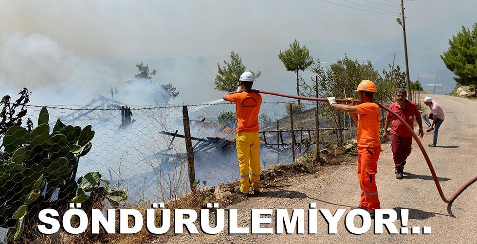 Kumluca'da yangın üztüne yangın!..