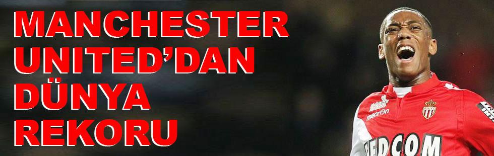 Manchester United'dan dünya rekoru!