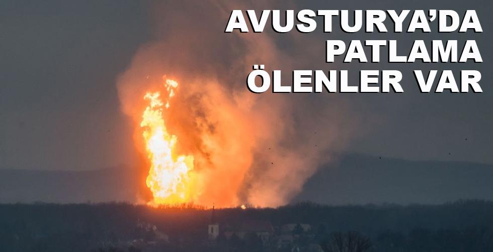 Avusturya'da patlama!.. Ölenler…