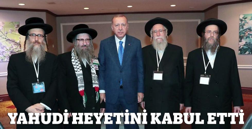 Erdoğan Yahudi heyetini kabul etti