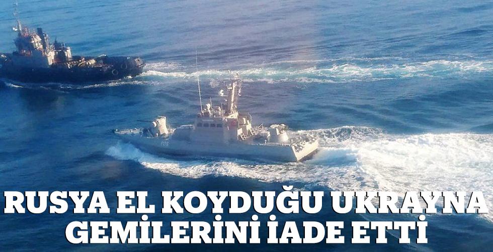 Rusya el koyduğu Ukrayna gemilerini…