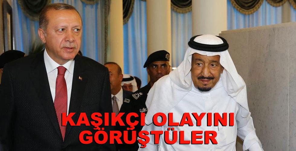 Erdoğan ile Salman Kaşıkçı olayını…