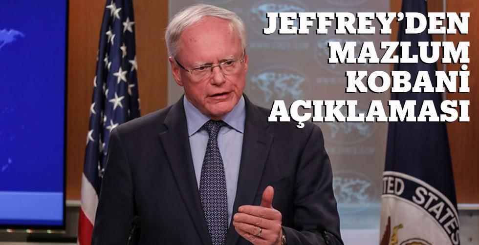 Jeffrey'den Mazlum Kobani açıklaması...