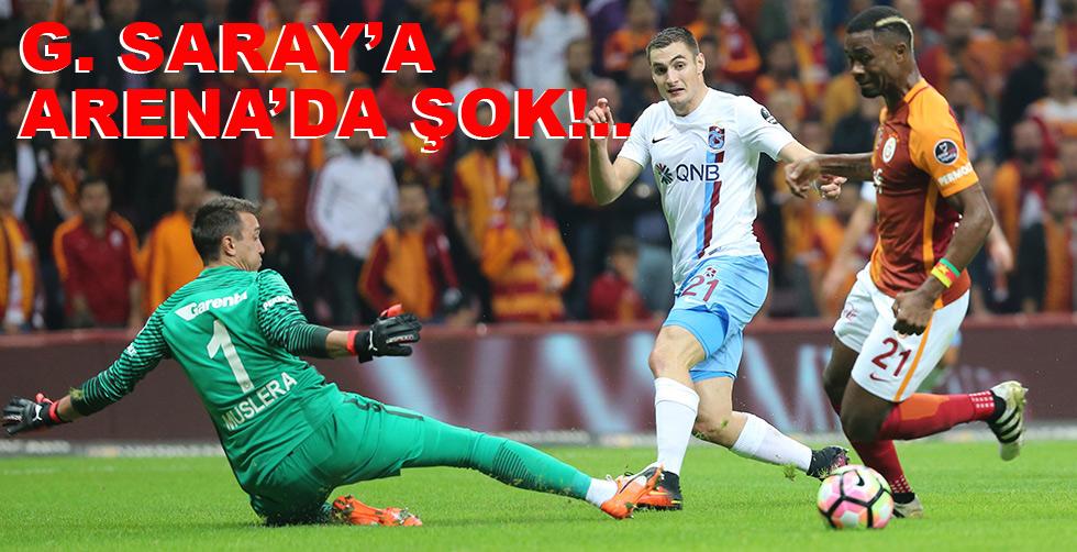 G. Saray'a Arena'da şok: 0…
