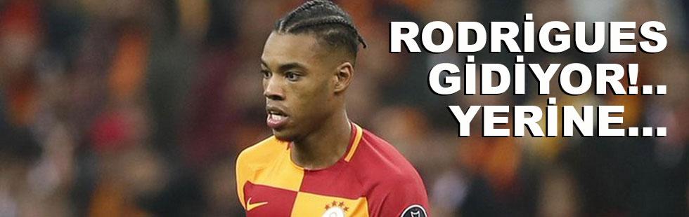 Rodrigues gidiyor... Yerine...