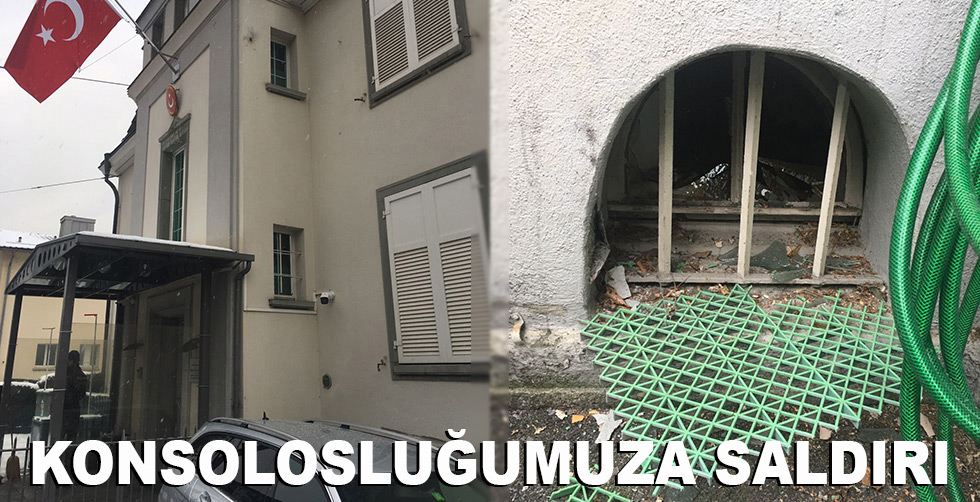 Türk Konsolosluğu'na saldırı