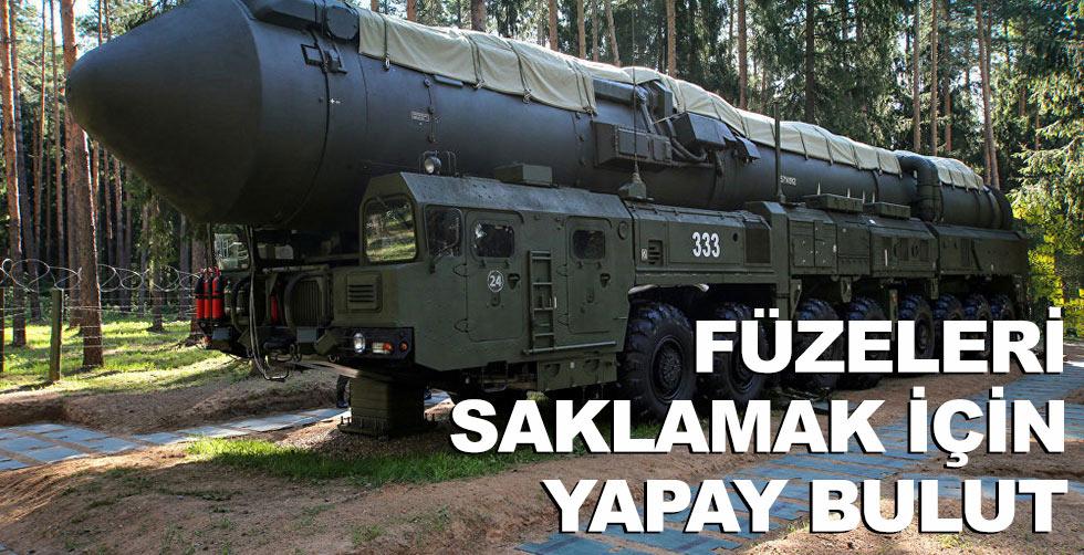 Füzeleri saklamak için yapay bulut!..