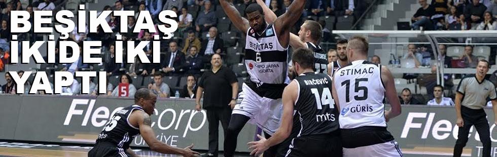 Beşiktaş ikide iki yaptı: 77 - 62
