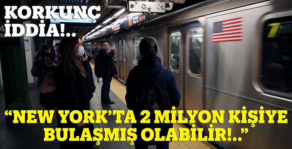 """Korkunnç iddia: """"NY'ta 2 milyon…"""