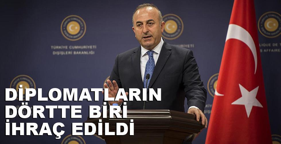 Türk diplomatların dörtte biri ihraç…