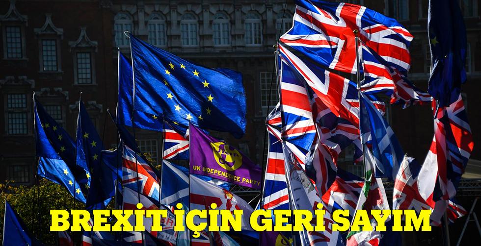 Brexit için geri sayım...