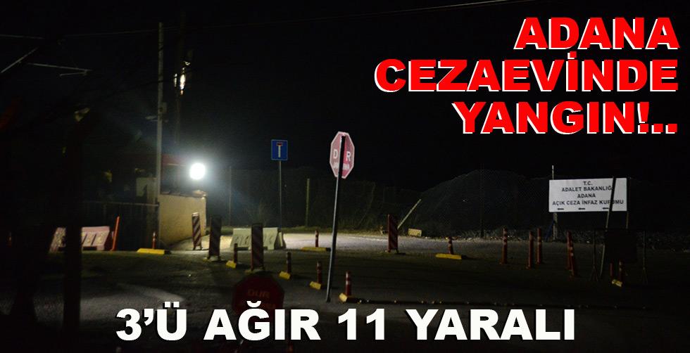 Adana cezaevinde yangın!.. 3'ü…