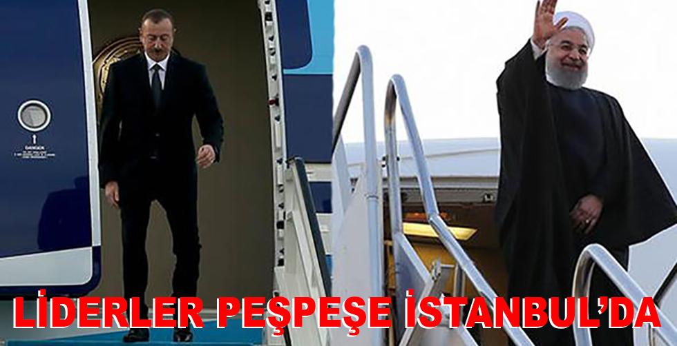 5 lider birden İstanbul'da