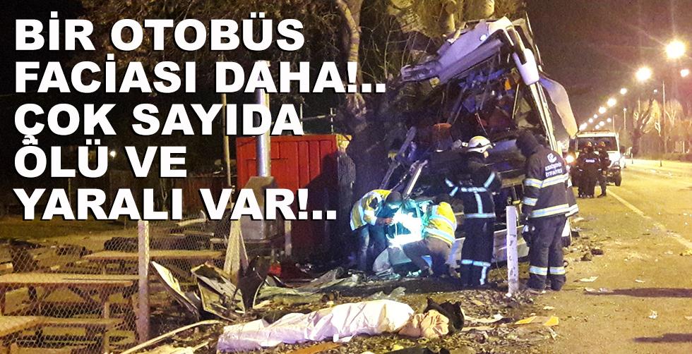 Bir otobüs faciası daha!.. 11 ölü!..