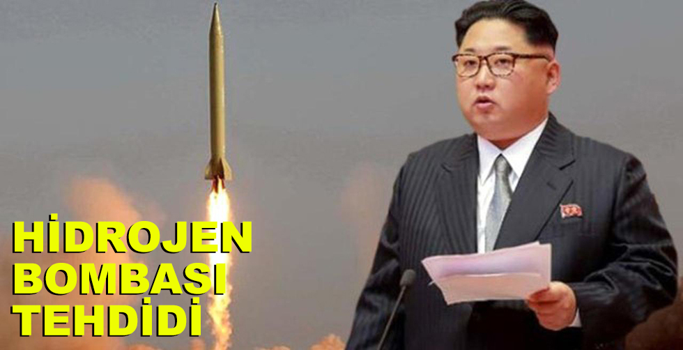 Hidrojen bombası tehdidi!..